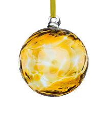 L'amicizia di vetro o STREGHE Ball, 10 cm topazio by Sienna VETRO
