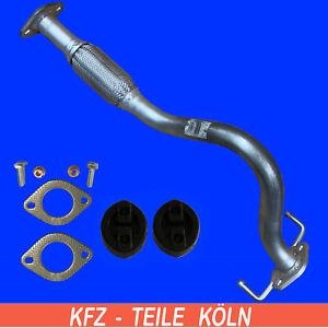 Hyundai Getz (TB) 1.1 Y-Branch / Flexi Pipe/Exhaust Pipe + Assembly Kit
