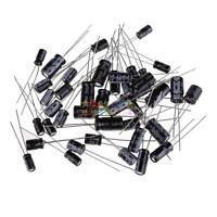 (1uF~470uF) 120pcs 12 Value Electrolytic Capacitors Assortment Kit Assorted Set