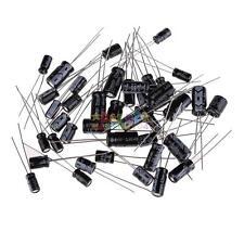 (1uF~470uF) 120pcs 12 Value Electrolytic Capacitors Assortment Kit Assorted Set