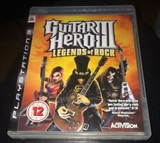 GUITAR Hero 3 Legends of Rock GIOCO PS3 PLAYSTATION 3 ***