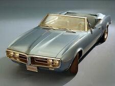 1967 Pontiac Firebird Convertible, Blue, Refrigerator Magnet, 40 Mil