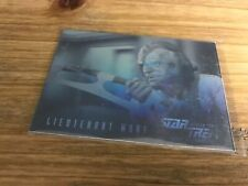 Star Trek The Next Generation Season 3 Hologram Trading Card HG6 Lieutenant Worf