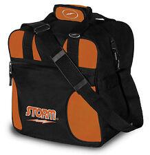 Storm Black/Orange 1 Ball Solo Tote Bowling Bag