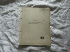 1976 John Deere Plow Bottoms Parts Catalog Book Manual Factory Original