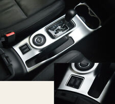 For Mitsubishi Outlander 2013-2016 ABS Chrome Water Cup Holder Gear Shift Trim