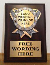 5x7 AWARD PLAQUE W/PLAQUE MOUNT - FREE ENGRAVING