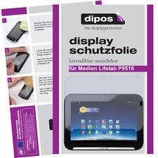 2x Dipos Crystalclear Displayschutzfolie für Medion Lifetab P9516 Displayfolie