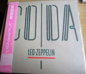 LED ZEPPELIN - Coda Digisleeve CD (WPCR-13141, 2008) rare Japan edition, Rock