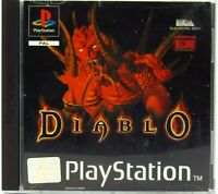 Diablo Sony PlayStation 1998 PS1 PAL European Complete