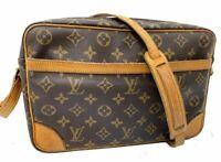 AUTH LOUIS VUITTON  Trocadero 30 Shoulder Bag Monogram Brown LV A-1068
