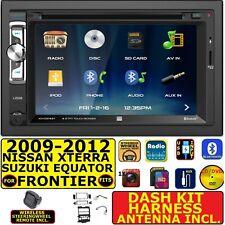 FITS 2009-12 NISSAN XTERRA & FRONTIER CD/DVD BLUETOOTH/USB/SD CAR RADIO STEREO