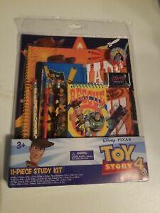 Disney Pixar Toy Story 4 Study Kit 11 Pieces School Supplies NEW
