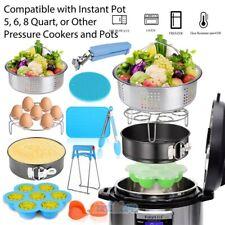 For Instant Pot Accessories Set 6 qt 8 Quart Pressure Cooker W/Steamer Basket Us