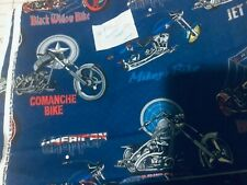 American Chopper Motorcycle  fabric BTHY