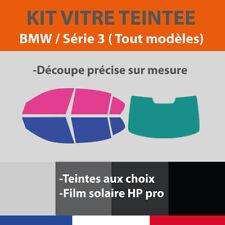 VITRE TEINTÉE BMW SÉRIE 3 / E30 E46 E90 E91  E92 E93 F30 F31 F34 G2 KIT FILM PRO