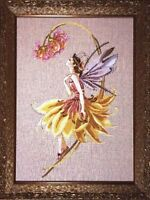 """SALE!  COMPLETE XSTITCH MATERIALS """"THE PETAL FAIRY"""" MD82 by Mirabilia"""