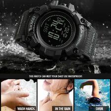 SKMEI Men's Digital Sports Outdoor Wrist Watch with Altimeter Barometer Compass