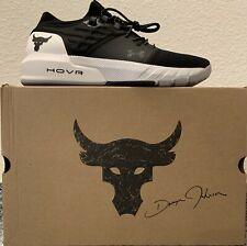 NEW - 11.5 - Under Armour Project Rock 2 Shoes - Black