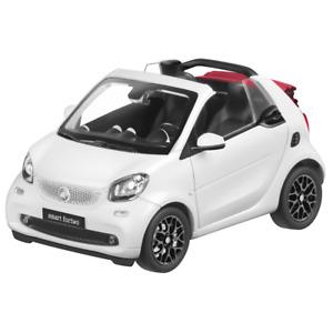 Smart Fortwo Cabriolet 453 A453 1:18 Maquette de Voiture Blanc B66960291