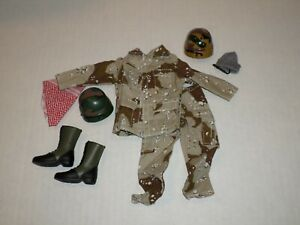 """Gi Joe Ultimate Soldier Lot 3 Of Clothes And Accessories For 12"""" Action Figure"""