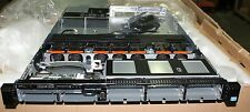 Dell PowerEdge R620 8/4 bay Empty Chassis HMN95 w/lid, fans, riser 3, I/O panel