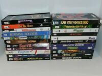 Panasonic 3DO Games Complete Fun You Pick & Choose Video Games Long Box Goldstar