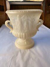 1960s Hong Kong Made Plastic Urn Vase For Flower Displays