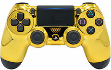 Gold Face PS4 new version RapidFire Modded Controller 35 mods for COD, Destiny+