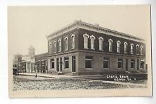 State Bank Ogden, Iowa RPPC