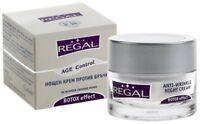 REGAL AGE CONTROL ANTI-WRINKLE NIGHT CREAM, ARGIRELINE, Avocado&Jojoba oil 45ml