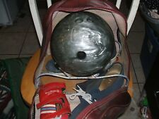 Cobra XXX 15 lb 8.8 oz. Bowling ball, Dan Carter bag, Brunswick shoes, glove