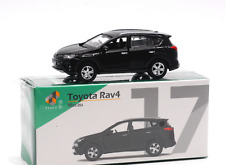 Tiny 1/64 Scale Toyota RAV4 Black Diecast Alloy Model Car Gift Collection