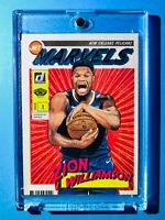Zion Williamson PANINI DONRUSS NET MARVELS ROOKIE INSERT CARD 2019-20 RC - Mint!