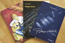 Gitarrenstücke - 3 Notenbücher - Aufbau eines Spielrepertoires