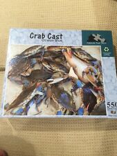 Crab Cast, Ocean Blue 550 Piece Puzzle