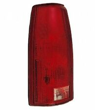 Tail Light Lens Only - Driver Side Left - Fits 1988-1998 Chevrolet Pickup
