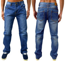Jeans coupe droite pour homme taille 38