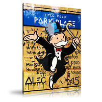 Alec Monopoly HD Print Oil Painting Home Decor Art on Canvas Park Place Unframed