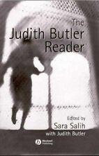 The Judith Butler Reader ed. Sara Salih Blackwell Publishing