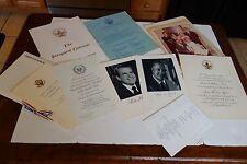 Vintage1973 Presidential Inaugural Memoribilia  NIXON AGNEW LOT