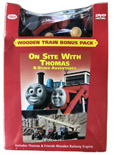 Thomas Wooden Railway Jack~DVD Included~New!