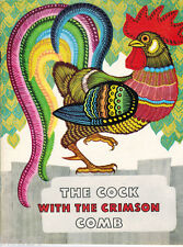 1981 THE COCK WITH THE CRIMSON COMB Karelian Fairy tale from Russian to English