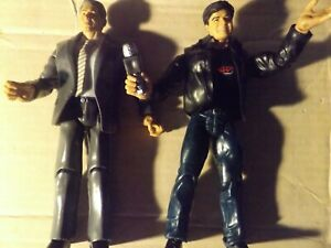 """WWE Jakks Pacific 2003 Eric Bischoff Vince McMahon  7"""" Wrestling Figure"""
