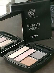 Avon Perfect Wear Eyeshadow Quad Nearly Naked RRP £6 each joblot of x5