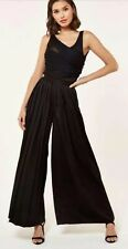 The Girlcode Black Bodysuit Trousers Set - UK8 - Brand New + Tags: RRP £85