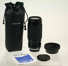 Tokina AT-X 50-250 50-250mm Macro Makro1:1,4 !! Minolta MD adapt. NEX MFT /14