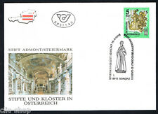 AUSTRIA 1 BUSTA PRIMO GIORNO FDC OPERA D'ARTE J. STAMMEL 1993