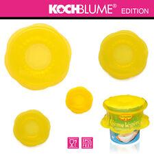Kochblume - Stretchii - 4-tlg - 4 Größen - gelb
