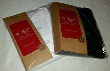 ORIGINAL PENGUIN MEN'S 3 PACK T-SHIRT 100% COTTON TEES  BLACK or WHITE RRP£32.99